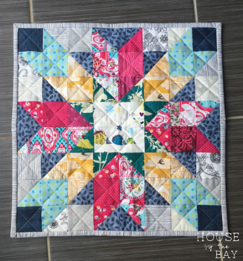 Ruby Roads Free Mini Quilt Pattern House By The Bay Design